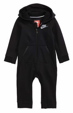 4286c4a54ccb Main Image - Nike Tech Fleece Romper (Baby Boys) Baby Boy Romper