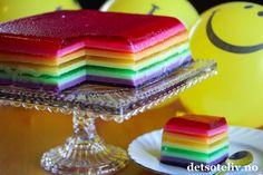 Barnas gelekake (Jelly Cake) + andre geletips | Det søte liv