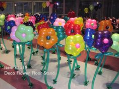Is this too much work fir the balloon grab? Love it .... They buy a flower.  balloon flower garden