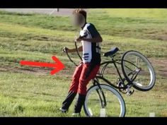 Watch: Bike prank catches would be thieves off guard [video] Prank Videos, Pranks, Bait, Hilarious, Funny, Teaching, Experiment, South Africa, Usa