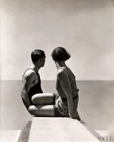 Vogue, July 1, 1930  Swimmers  Photographed by George Hoyningen-Huene