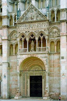 Ferrara, Italy, province of Ferrara , Emilia Romagna  : La Cattedrale