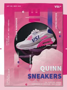 Sneakers Poster Template PSD