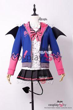 Love Live! New UR Nico Yazawa Little Demon Uniform Halloween Cosplay Costume_2