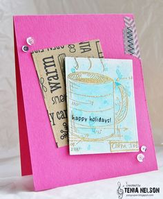 Jazzy Paper Designs: 2015 Holiday Coffee Lovers Blog Hop