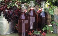 Image result for elderberry vodka photo
