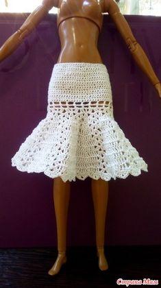 Crochet Barbie Clothes, Doll Clothes, Barbie Dress, Barbie Barbie, Barbies Pics, Doll Dress Patterns, Barbie Friends, Lace Shorts, Knit Crochet