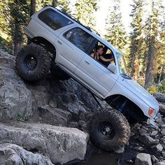 Creeping and crawling. Creeping and crawling. Toyota 4x4, Toyota Surf, Toyota Trucks, Toyota 4runner, 4x4 Trucks, Tacoma Toyota, 3rd Gen 4runner, Nissan Patrol, Jeep Truck
