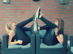 Bestfriends , every brunette needs a blonde bestfriend <3