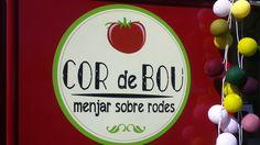 Cor de Bou, food van Citroen HY, Barcelona,  Spain.