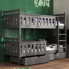 Bring your children's bedroom to life with our range of Bedroom Furniture. Shop bunk beds, children's beds, cabin beds & novelty beds for kids. Bunk Beds With Drawers, Wooden Bunk Beds, Bunk Beds With Storage, Bed Storage, Kids Bedroom Designs, Bed Designs, Girls Bedroom, Bedroom Decor, Bed Furniture