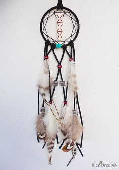 Tribal Dream Catcher Necklace Native American by SierDreamS