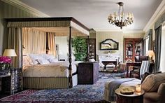 Traditional Bedroom by Michael S. Smith Inc. and Ferguson & Shamamian Architects in Los Angeles, California <3