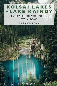 Kazakhstan four day itinerary from Almaty, including Altyn Emel, Kaindy Lake, Kolsai Lakes, Charyn Canyon and more! Where to go and things to see in Kazakhstan--Central Asia's biggest country. Places To Travel, Places To See, Travel Destinations, Travel Things, Laos, Koh Lanta Thailand, Vietnam, Bon Plan Voyage, Backpacking Asia
