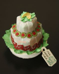 Aspic - Tiny paper sculpture by Tina Jett