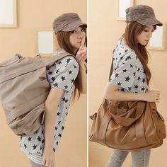 Design Women Faux Leather Handbag Shoulder Messenger Bag Tote Shopper In US