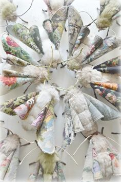 Exclusive Interview: The Beautiful Textile Insects and Animals by Mister Finch - My Modern Met