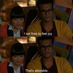 I set fires to feel joy