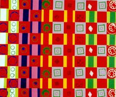pattern weaving and printing