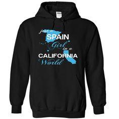 SPAIN CALIFORNIA T-Shirts, Hoodies. GET IT ==► https://www.sunfrog.com/Camping/SPAIN-CALIFORNIA-Black-Hoodie.html?id=41382