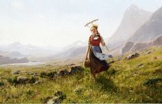 In the Mountains - Hans Dahl