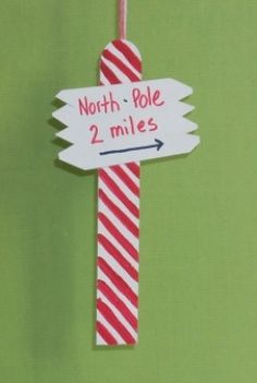 Pinterest Christmas Craft Popsicle Sticks And Sleighs