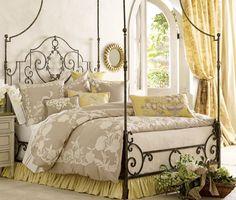 Canary bedding | Pierre Deux bedding