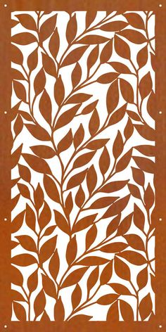 Gnee Steel which is specialized company in corten steel and corten steel deep processing now, we are affiliated company of Anyang Iron & Steel Group Co., with more than 60 years in corten steel manufacutre and export. Laser Cut Screens, Laser Cut Panels, Laser Cut Metal, 3d Laser, Laser Cut Patterns, Stencil Patterns, Metal Cortado A Laser, Decorative Panels, Decorative Metal