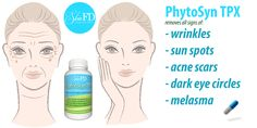 PhytoSynTPX is rejuvenating, active supplement that makes your #skin shine! It fights #aging, #wrinkles, #dry skin and #agingspots. It provides your skin with vitamins. It increase collagen production that helps bring back the firmness your skin had in youth and the #elastin brings back the springy, elasticity that signals #healthy, #youthful skin.  Visit us: http://skinfd.com/?attachment_id=485