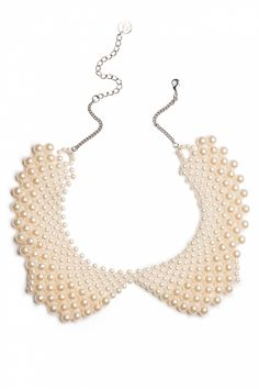 Darling Divine - 40s Make my day! Pearl Collar necklace