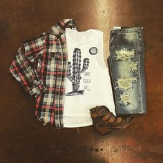 Can't Touch This Tank $39 One Teaspoon Plaid $108 One Teaspoon Jeans $128 To be invoiced by PayPal please leave size, state & email in comment