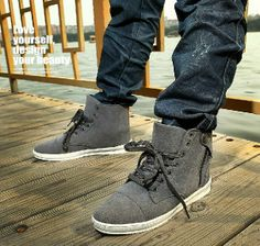 high fashion for men | Latest Fashion Casual Male Canvas shoes Men Low cloth shoes for men ...