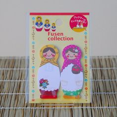 Oh my goodness! I need these!! : ) Matryoshka Dolls Post-It Notes