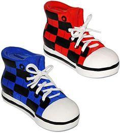 Marvelous Sparschwein Schuhe Sneaker Sportschuh mit echten Schn rsenkel stabile Sparb chse aus Porzellan Keramik D Effekt f r Kinder