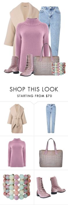 """""""Warm and Cozy in Mom Jeans"""" by lechara ❤ liked on Polyvore featuring Bottega Veneta, Miss Selfridge, Mint Velvet, Chanel and CUPLÉ"""