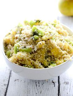 Tropical Quinoa Fruit Salad