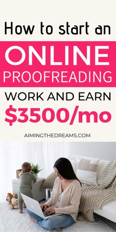 How to become a proofreader and earn a full-time income working from home. As a proofreader, you can earn an income from home and supplement your income. If you are a native English speaker, it can be a great job for you. Proofreading can let you make money as a proofreader and work from home. Make money online with kids at home as stay at home mom Make Money Online, How To Make Money, How To Become, Virtual Assistant Jobs, Survey Sites, Proofreader, Transcription, Work From Home Jobs, Online Jobs