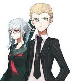 Kuzuryuu Fuyuhiko y Pekoyama Peko