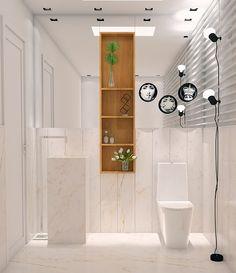 #projetosHaus Inciando o clima da semana e encerrando o listão de banheiros. Lavabo lindo com Lambri em Granito Paraná Nuovolato e cuba esculpida de chão. Vai ficar Lindo! e Vai ter post duplo =) :: POST 01 ::    #Haus #HausEngenho