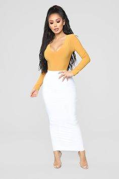 Hot Outfits, Classy Outfits, Fashion Outfits, Classy Clothes, Women's Clothes, Womens Fashion, Hobble Skirt, Casual Summer Outfits For Women, New Years Outfit