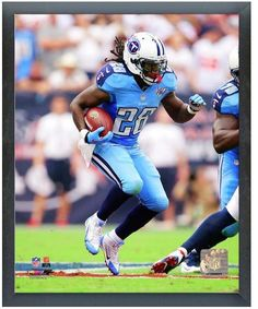 """Chris Johnson Tennessee Titans - 11"""" x 14"""" Photo in a Glassless Sports Frame"""