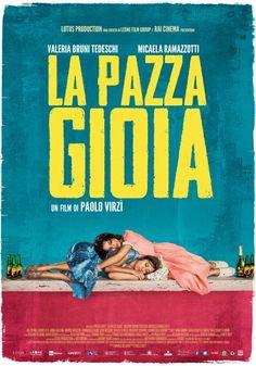 #LaPazzaGioia, il film di Paolo Virzì con Valeria Bruni Tedeschi e Micaela Ramazzotti, dal 17 maggio al cinema.