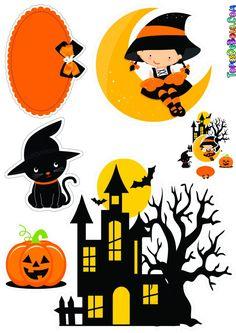 Bolo Halloween, Easy Halloween Crafts, Halloween Quotes, Halloween Signs, Halloween Pictures, Halloween Birthday, Halloween Wall Decor, Halloween Porch Decorations, Halloween Painting