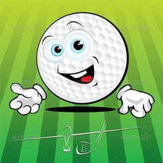 Golf Stance, Golf Green, Ball Drawing, Golf Tips For Beginners, Golf Carts, Golf Ball, Cartoon Drawings, Golf Courses, Clip Art