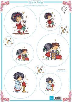 Ddk3212 Knipvel Don & Daisy Christmas 2