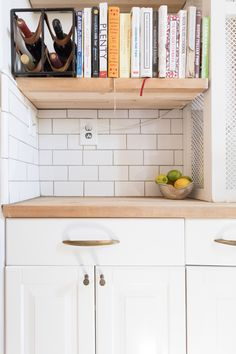 How Two New Yorkers DIYed a Stylish, Functional Kitchen in Only 38 Square Feet