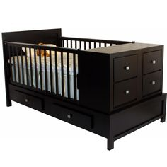 Bed Crib Wood Corral For Baby Portal Pictures Cot With Storage, Baby Room Neutral, Parents Room, Bebe Baby, Baby Box, Shops, Kids Room Design, Baby Furniture, Baby Cribs