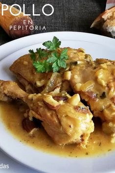 Spanish Cuisine, Spanish Food, Cherry Pepper Recipes, International Recipes, Mexican Food Recipes, Chicken Recipes, Easy Meals, Food And Drink, Healthy Eating