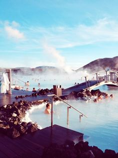 Blue Lagoon Geothermal Spa In Reykjavik, Iceland