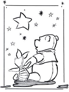 Printable Winnie The Pooh Coloring Pages Pooh Pinterest